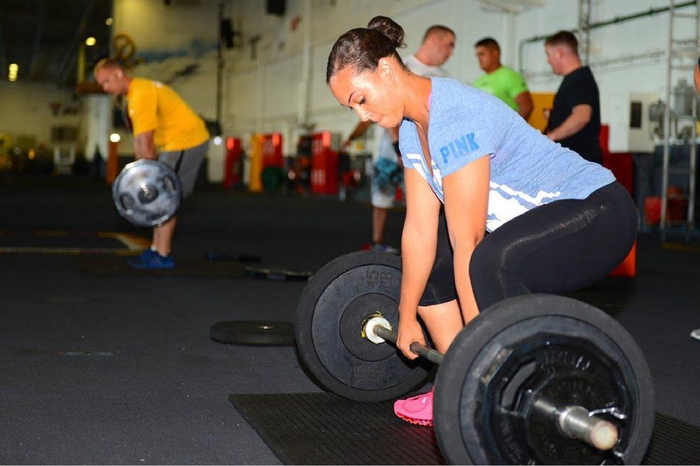El Peso Muerto Rumano como entrenamiento para femorales.